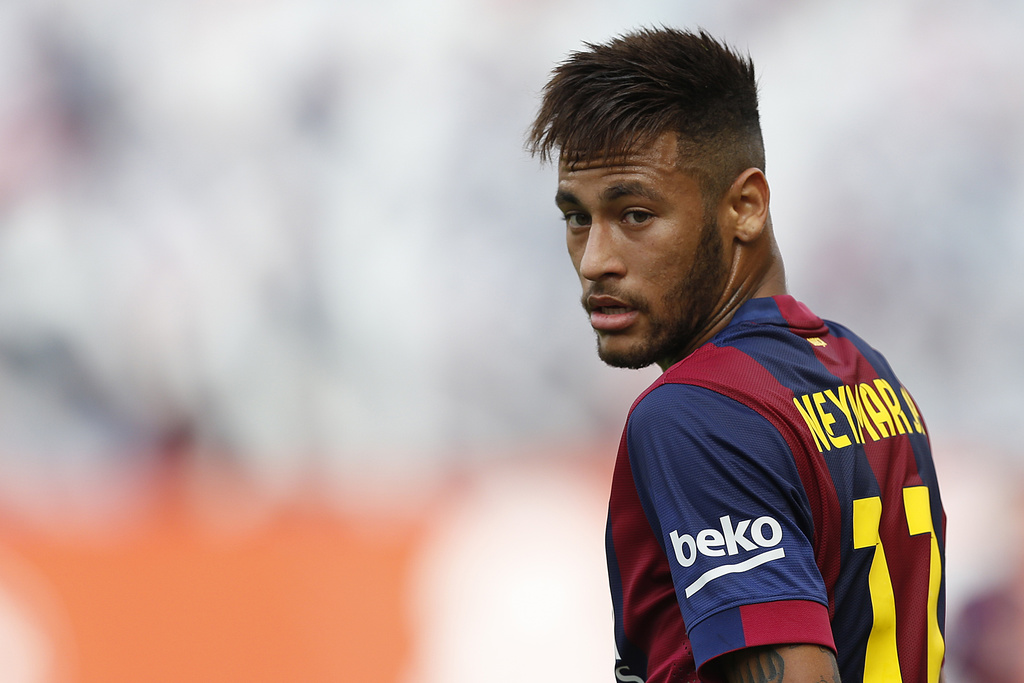 Coupe de cheveux neymar coupes de cheveux for Neymar 2014 coupe de cheveux