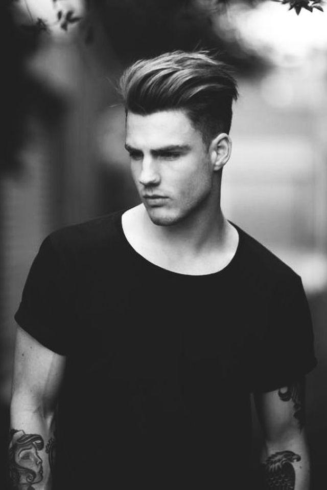 technique coupe de cheveux a la mode homme