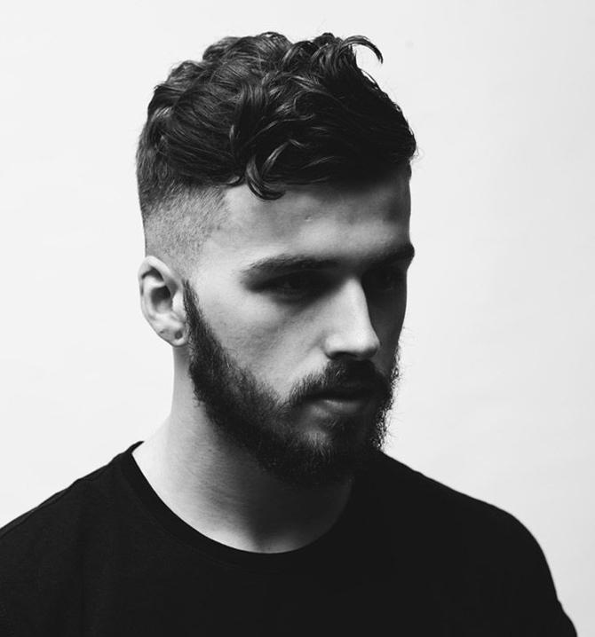 beau coupe de cheveux a la mode homme