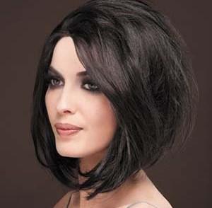 photo coupe de cheveux femme visage rond