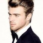 illustration coupe de cheveux homme mi long