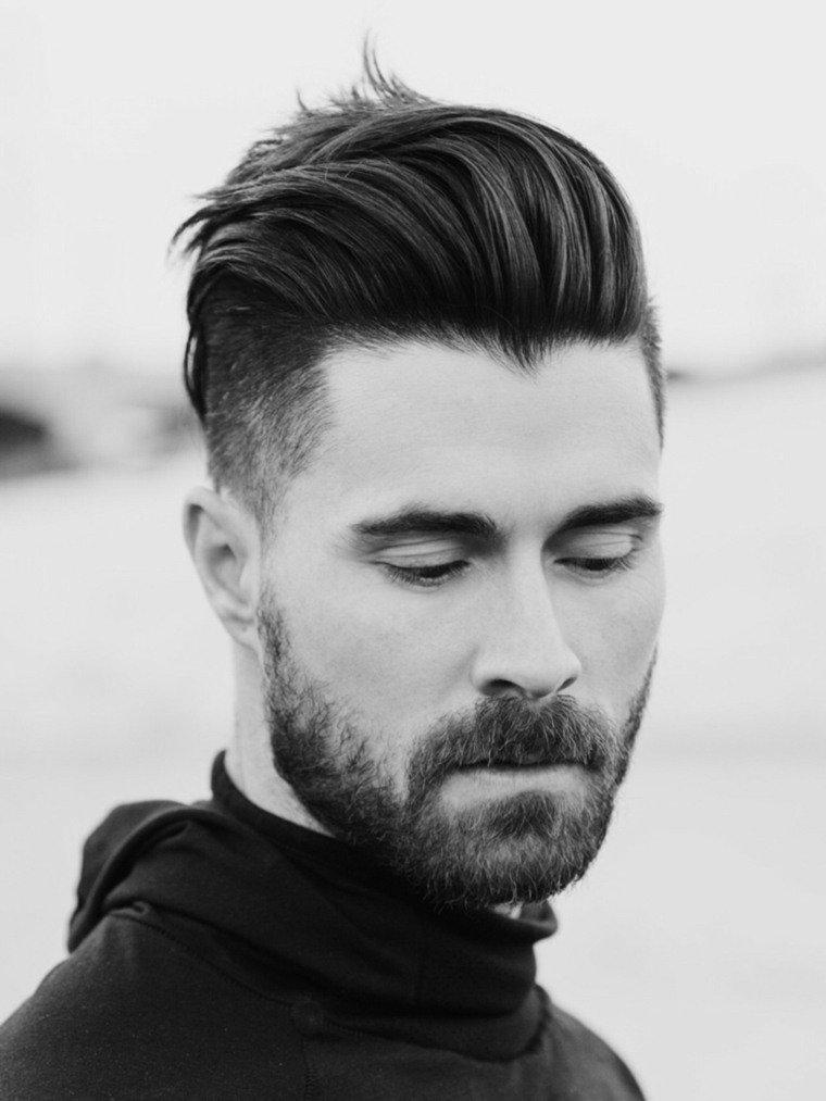 beau coupe de cheveux homme tendance