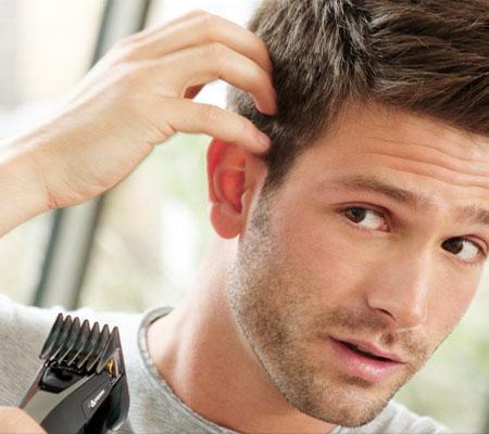 technique coupe de cheveux homme tondeuse