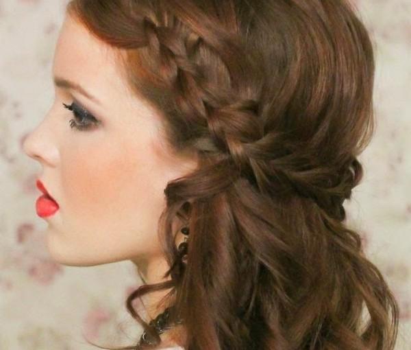 Coupe de cheveux natte