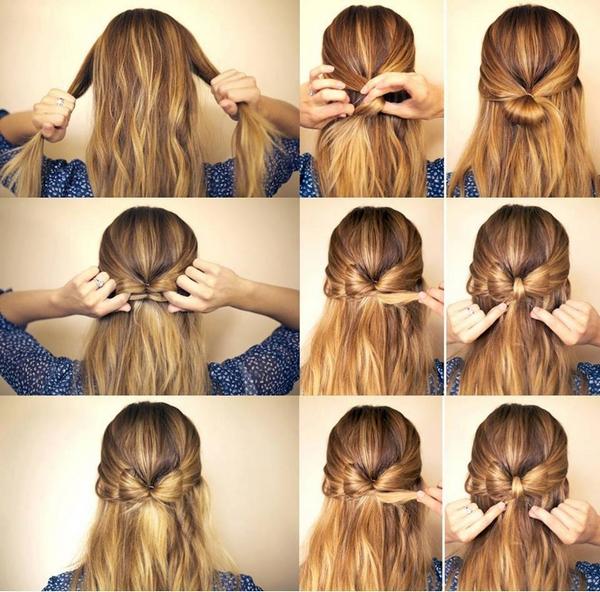 idée coupe de cheveux noeud papillon