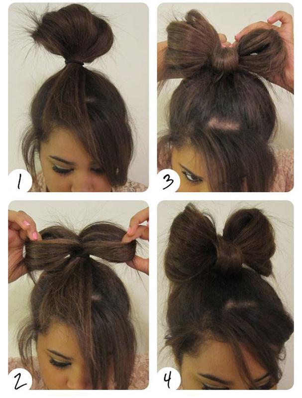 image coupe de cheveux noeud papillon