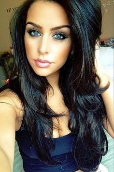 Coupe de cheveux noires