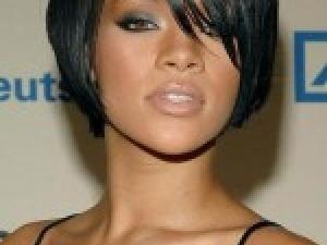 image coupe de cheveux noires