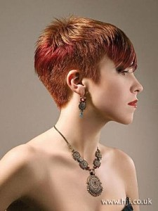 idée coupe de cheveux nuque courte
