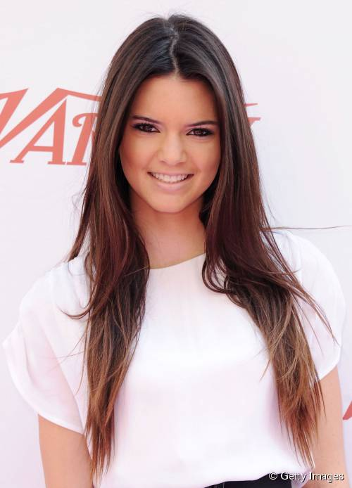 illustration coupe de cheveux kendall jenner