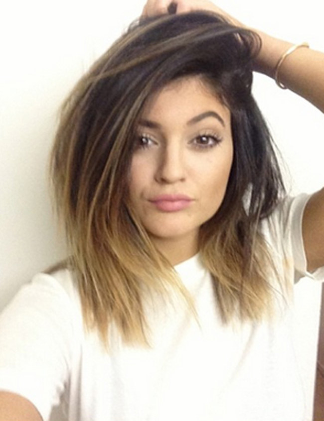 photo coupe de cheveux kylie jenner