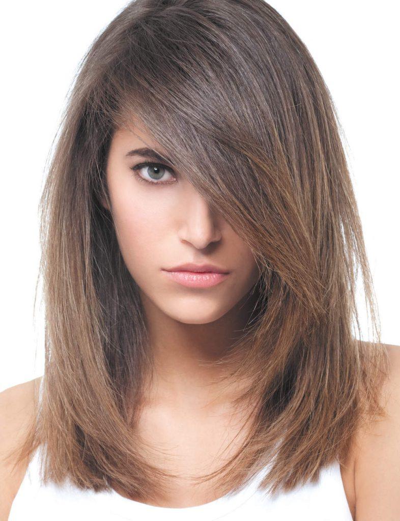 illustration coupe de cheveux long dégradé