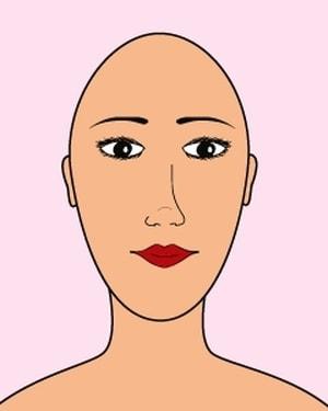 idée coupe de cheveux pour visage long