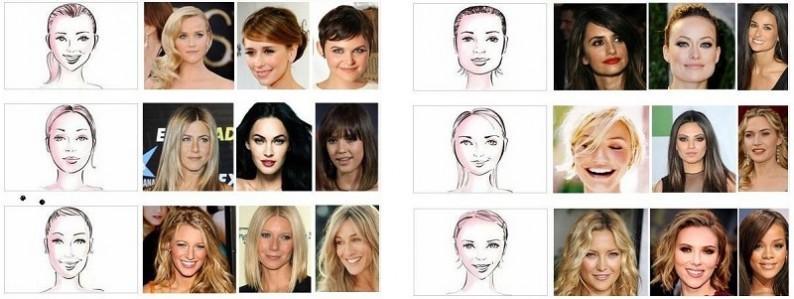 Coupe de cheveux visage coupes de cheveux for Coupe de cheveux visage triangulaire femme
