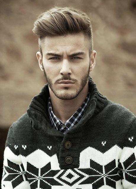 image coupe de cheveux visage ovale homme