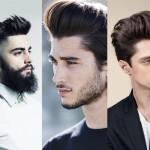 illustration coupe de cheveux homme tendance