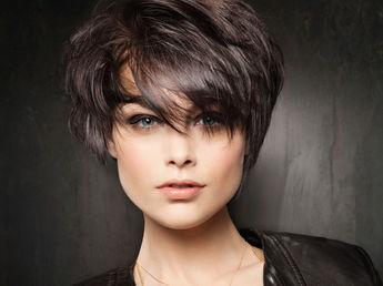illustration coupe de cheveux image