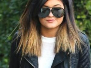 beau coupe de cheveux kylie jenner