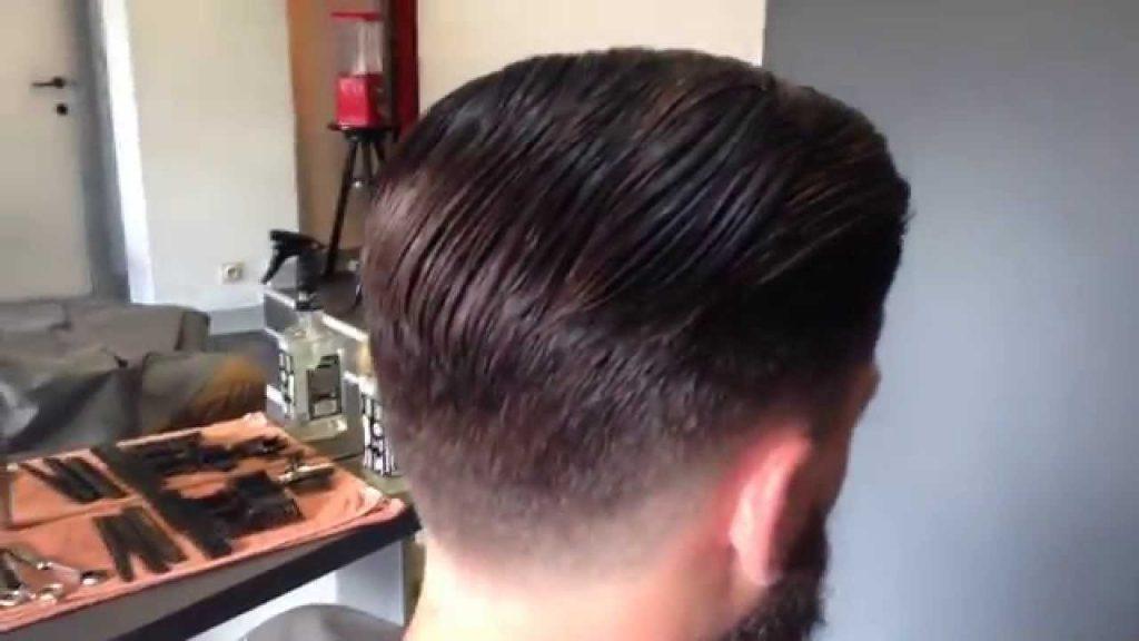 idée coupe de cheveux old school homme