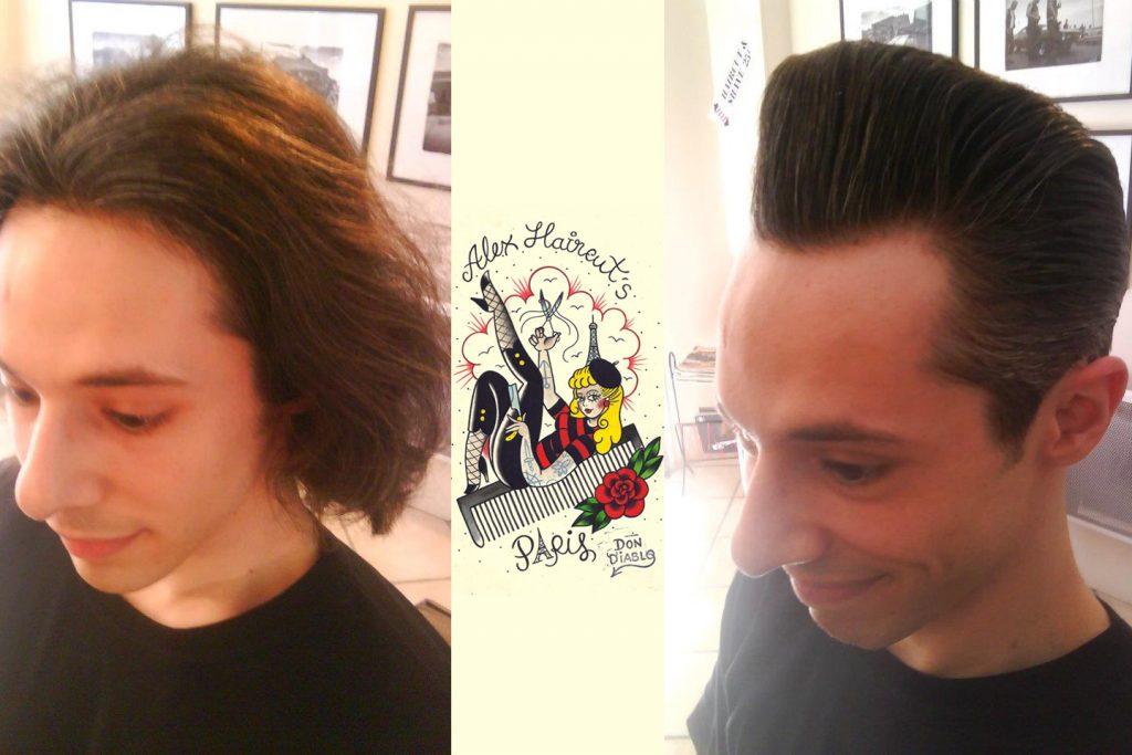 exemple coupe de cheveux old school homme